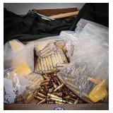 Large quantity of 308 Winchester brass, some fired