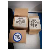4 boxes a 7.62 x51mm ammo each box has 20 rounds