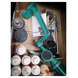 RCBS uniflow powder measure, liquid alox bullet