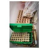 Selection of miscellaneous ammo including 375