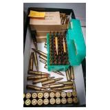 150 rounds of 5.56 mm m193 ammo and 20 rounds of