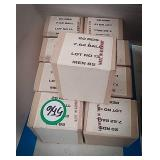 9 boxes of 7.62 mm ball ammo