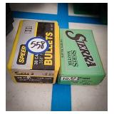 Two boxes of 38 caliber bullets from Speer and