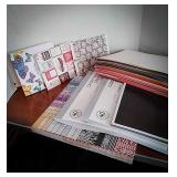 Scrapbooking printed paper packets including
