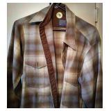 Pendleton 15 1/2 wool button-up shirt