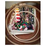 Needlecraft embroidery hoops 12 in 18in, 24in,