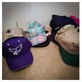 Eagles ball cap and sun visor, Minnie mouse cap,