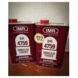 Smokeless powder Sr 47.59 1 and 1/2 can as per