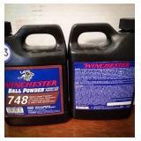 Winchester ball powder or smokeless propellant