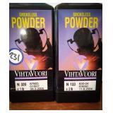 vihtaVuori smokeless powder n320 and n133