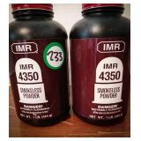 IMR 4350 SMOKELESS POWDER 1 AND 1/4 CANISTER AS