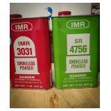 IMR sr4756, IMR 3031 one-quarter canister