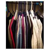LL Bean mens pullover long sleeve shirts, variety