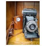 Kodak vigilant Junior six-20 camera with a dakon