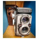 Yashica d made in Japan camera. Copal mxv and has
