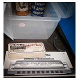 Marine band harmonica by m. Hohner from Germany
