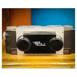 Stereo realist Daniel white company with walkie