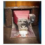 Kodak number 3 folding Hawkeye model 5 camera