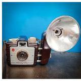 Kodak Brownie holiday flash camera with Dakon