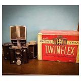 Twin flex Univex  made in the USA focusing reflex