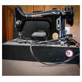 The Bel-Air bantam model 33 sewing machine in