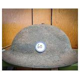 WW I doughboy helmet