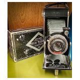 Agfa pb16 Ansco Plenax collapsible camera comes