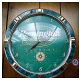 Remington country wall clock
