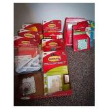 Command hooks unopen packaging in a variety of