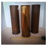 Three shell cartridges 105 mm M14 1944, quantity