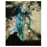 Metal frame hammock did not put up to make sure