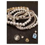Silver Colored Jewelry.