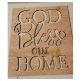 Wooden Home Decor Cut Out.