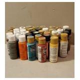 Various Craft Paints.