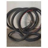 Bicycle Tires and Wheel