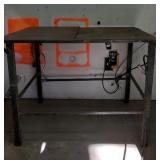 Handmade Metal Table.