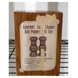 Gourmet Salt and Pepper Shaker