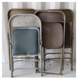 Lot of Folding Chairs