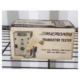 Vintage Micronta Transistor Tester