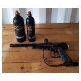 Revelation Paintball Gun and 2 Tanks
