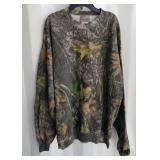 Camo Sweatshirt 2X