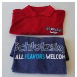 Schlotzskys Shirts
