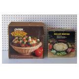Pyrex Fireside Naturals and Salad Server
