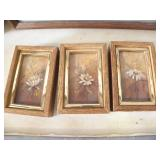 3 ORIGINAL SHIRLEY TIPPETTS SAND PICTURES