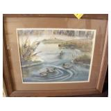 """FRAMED LINDA TIPPETTS PICTURE, 18 1/4"""" X 22 1/4"""""""