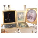 SEVERAL FRAMED RELIGIOUS PICTURES