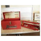 RAMSET IN RAMSET TOOL BOX & EXTRAS