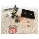 MILITARY PINS, PHILLIPS 66 PATCH