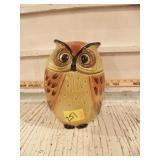 POPPY TRAIL OWL COOKIE JAR