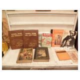 BOX OF BOOKS, MONTANA, THE GUNFIGHTER, HEIDI